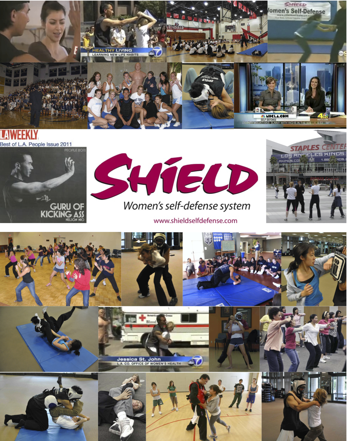 self defense classes for women and girls