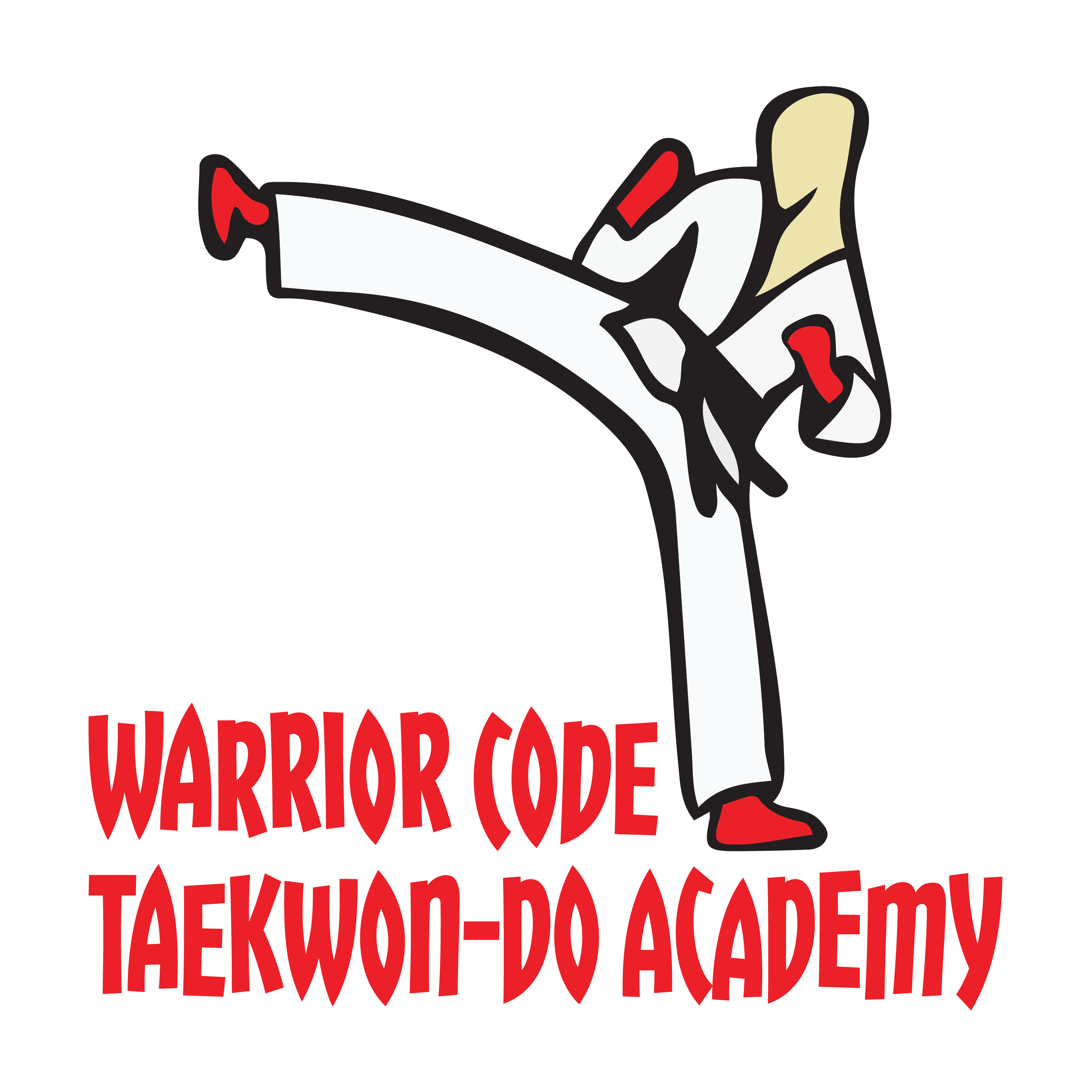 Warrior Code TKD Logo